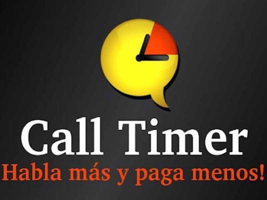 Call Timer Pro: ¡Habla más y paga menos!