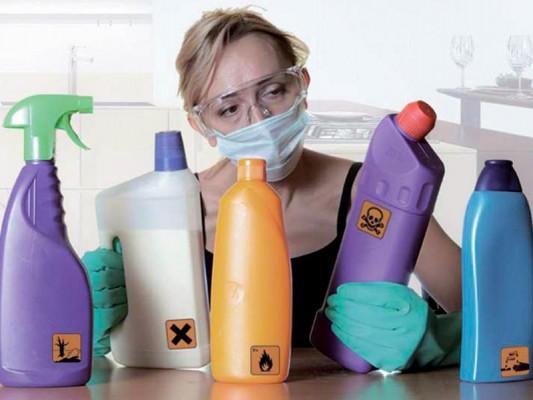 Limpia la casa sin usar  detergentes químicos