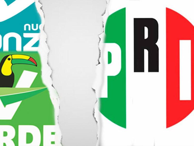 PRI-PVEM-PANAL no participará como coalición en el Estado de México