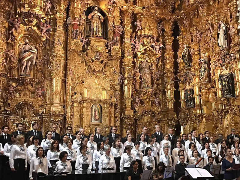 El Coro Hendricks Chapel Choir en el Museo Nacional del Virreinato