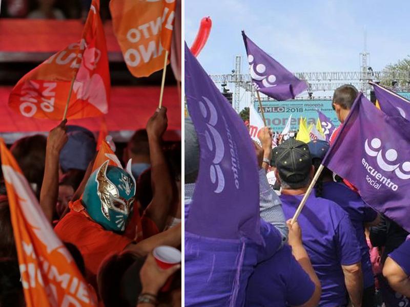 Cuatro Partidos no alcanzaron los votos para conservar su registro