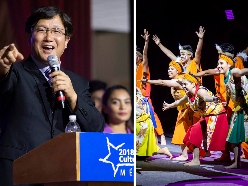 Este sábado concluye el Campamento Cultural Mundial México 2018 que organiza la IYF