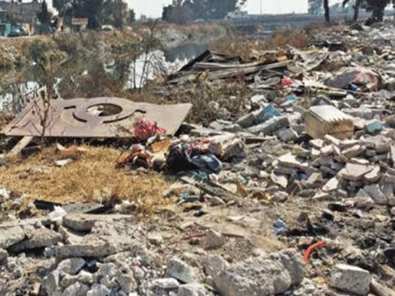 El 30 % de la basura del Estado se deposita en tiraderos clandestinos