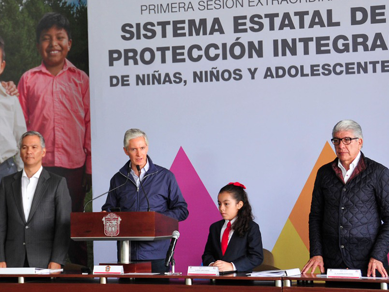 El Estado de México busca garantizar una vida sin violencia a los menores de edad