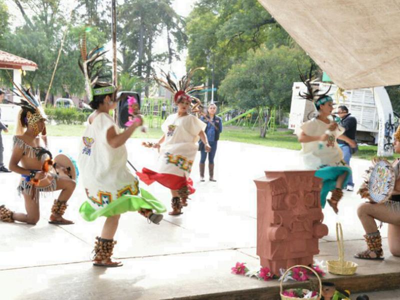 Continúa la fiesta patronal de Santa María Tianguistengo