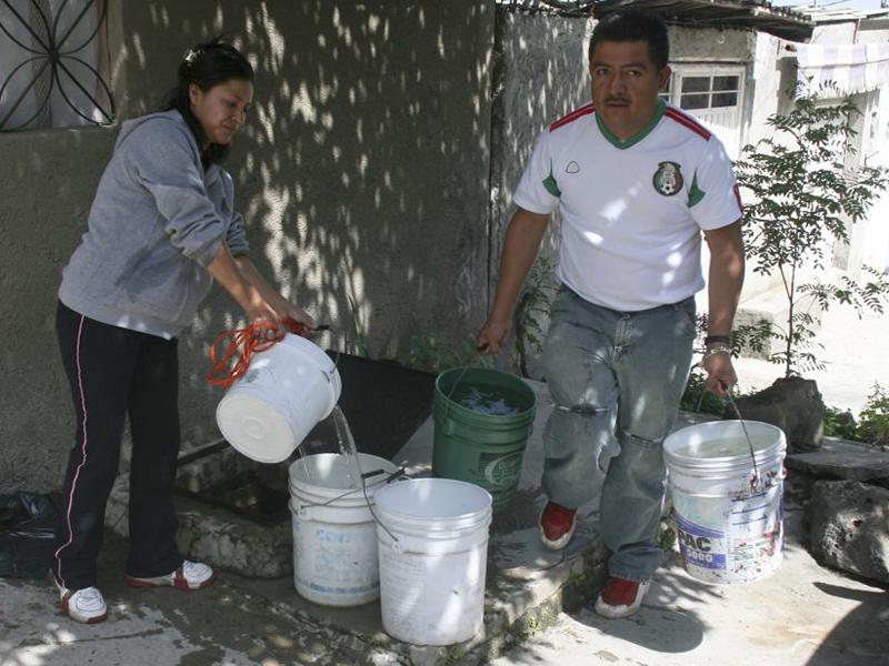A prepararse para el desabasto de agua