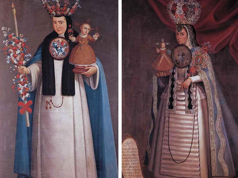 """Presentan """"Monjas Coronadas"""" en el Museo Nacional del Virreinato"""