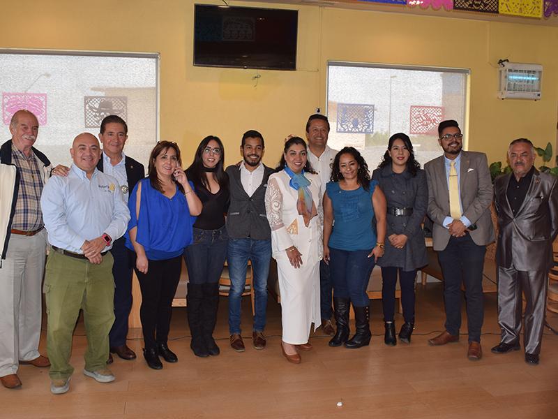 Club Rotario Izcalli propone  proyecto para el mejoramiento del parque Espejo de los Lirios