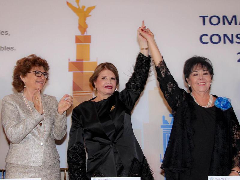 Asociación Mexicana de Mujeres Empresarias (AMEXME) renovó su Consejo Nacional