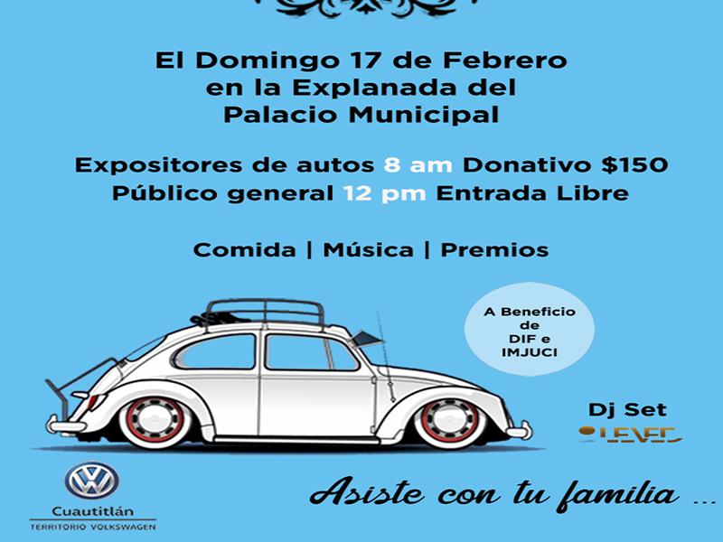 Invitan a la Expo Autos en la explanada municipal