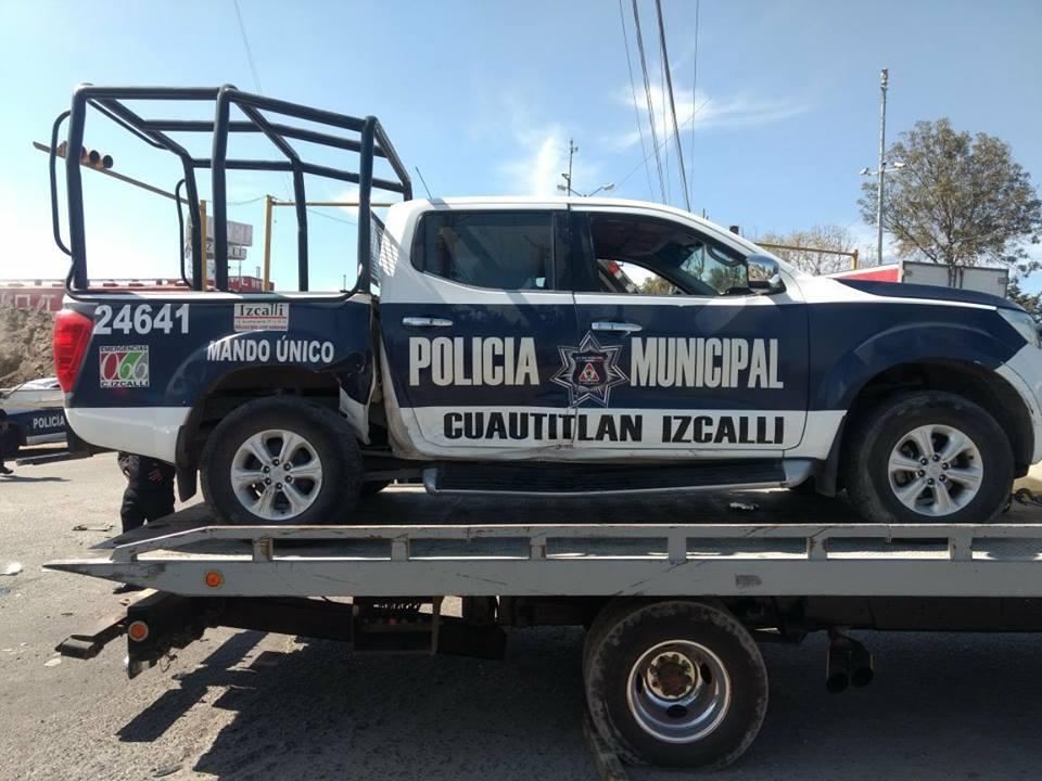 Requiere Izcalli de 80 a 100 patrullas para mejorar la seguridad pública