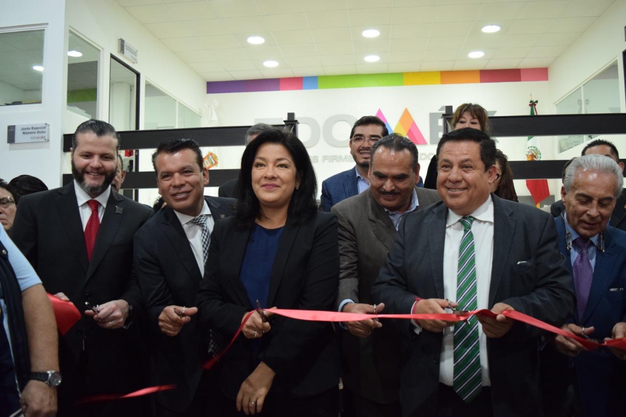 Inician operaciones en la nueva oficina de la Junta Local de Conciliación y Arbitraje