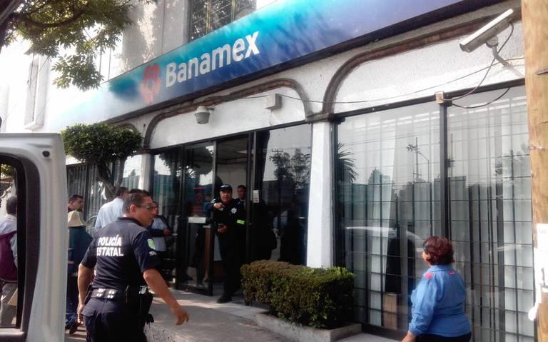 El Edomex, primer lugar en robo a bancos