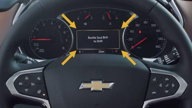 Chevrolet no permitirá conducir si no te pones el cinturón de seguridad