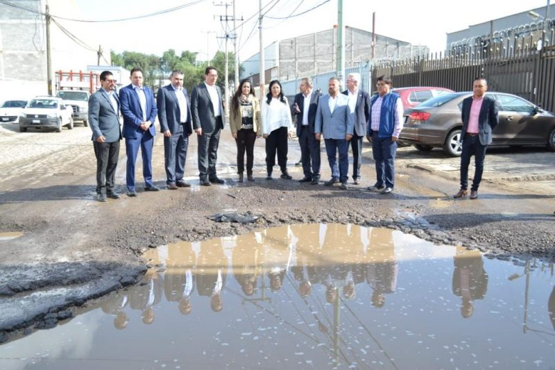Piden empresarios del CCE el arreglo de zonas industriales
