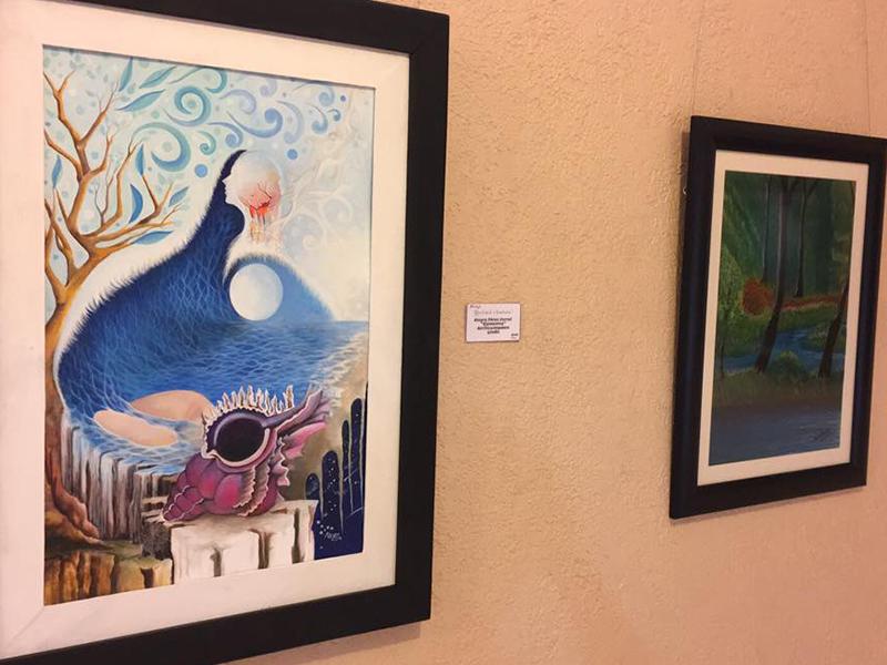 Realidad o Fantasía; exposición colectiva de pintura en el CRCCI