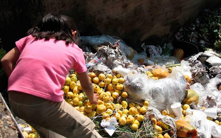 Se desperdician 20 millones de toneladas de alimentos al año en el Edomex