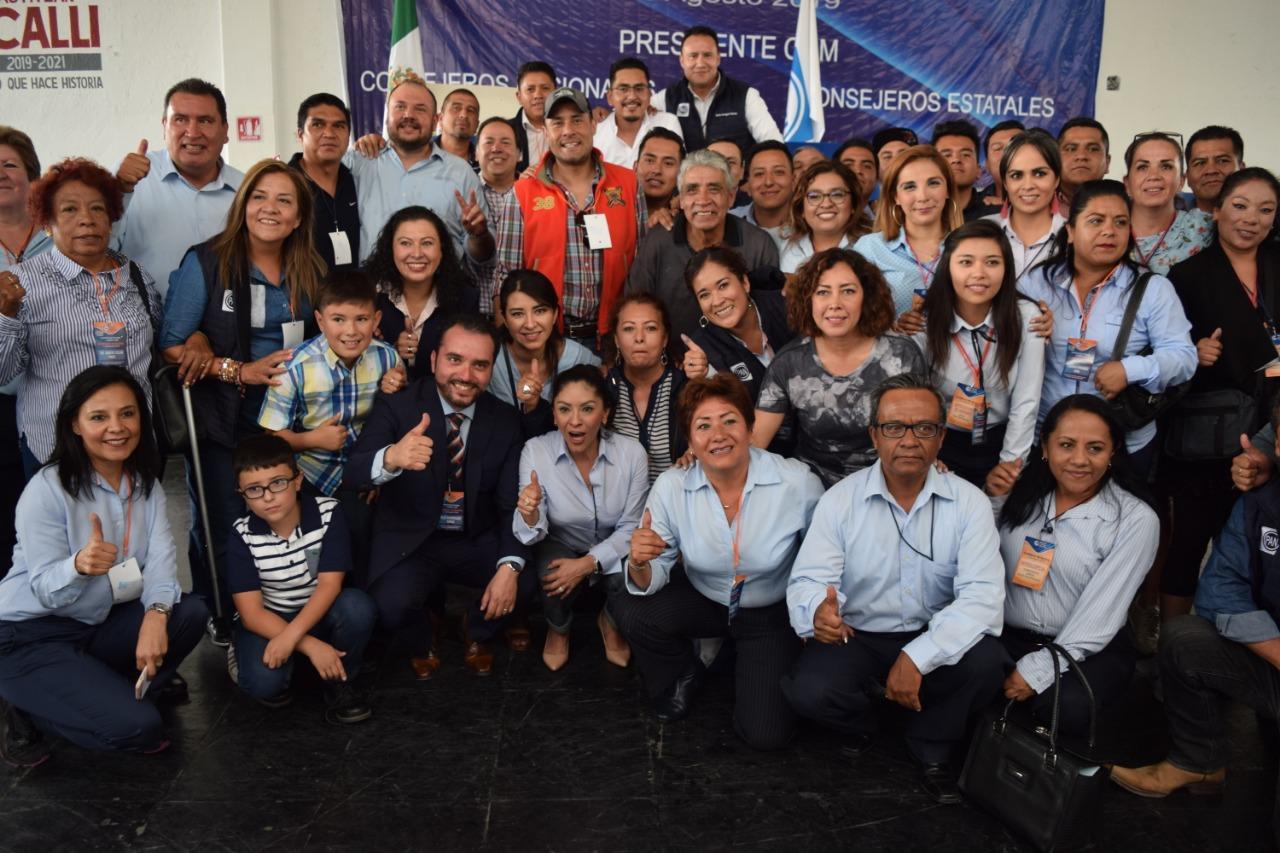 Eligen a Erick Ruíz como Presidente del PAN en Izcalli